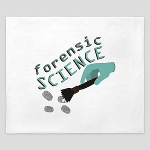 Forensic Science King Duvet