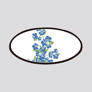 Forget me nots Patch