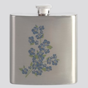 Forget me nots Flask