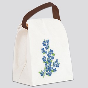 Forget me nots Canvas Lunch Bag