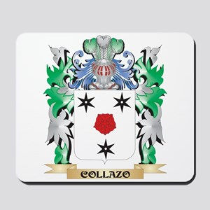 Collazo Coat of Arms - Family Crest Mousepad