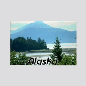 Alaska the Great Land Rectangle Magnet