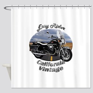 Moto Guzzi California Vintage Shower Curtain