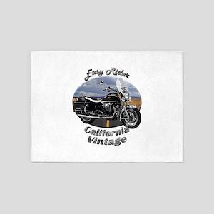 Moto Guzzi California Vintage 5`x7`Area Rug