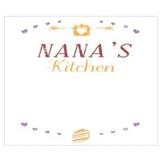 Nanas Kitchen Where Memories Are Made Gra Wall Art Poster