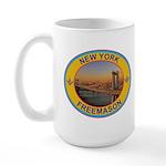 New York Freemason Large Mug