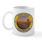 New York Freemason Mug