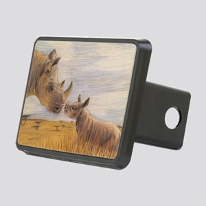 Rhino mom and baby Hitch Cover