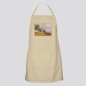 Rhino mom and baby Apron