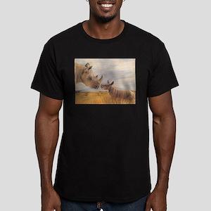 Rhino mom and baby T-Shirt