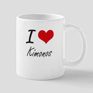 I Love Kimonos Mugs