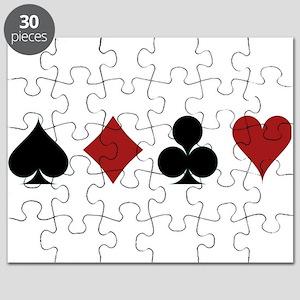 Four Card Suits Puzzle