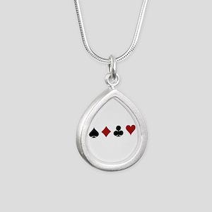 Four Card Suits Necklaces