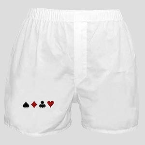 Four Card Suits Boxer Shorts