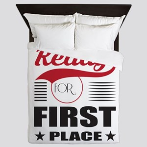 Get Ready for First Place Queen Duvet