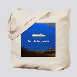 Cruising Bar Harbor Tote Bag