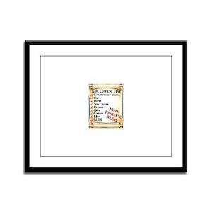 Pirate Framed Panel Print