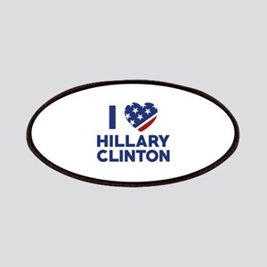 I Love Hillary Clinton Patches