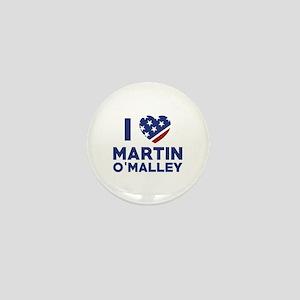 I Love Martin O'Malley Mini Button