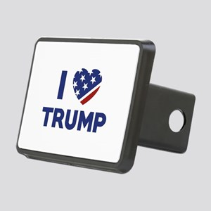 I Love Trump Rectangular Hitch Cover