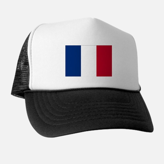 French Flag Trucker Hat