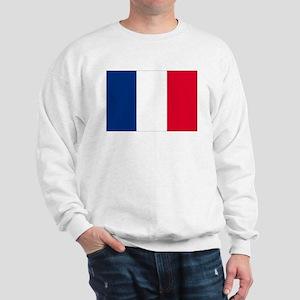 French Flag Sweatshirt