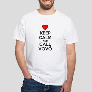 Keep Calm Call Vovo (grandpa) T-Shirt
