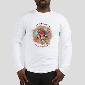 SICILIAN TRINACRIA Long Sleeve T-Shirt