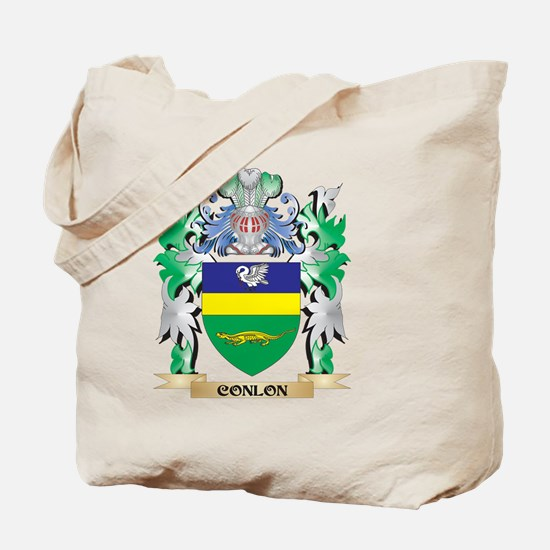 Conlon Coat of Arms - Family Crest Tote Bag