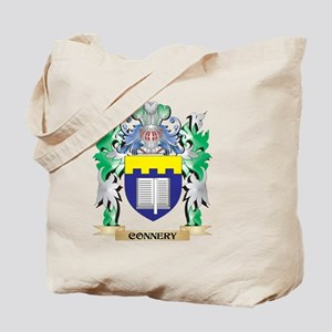 Connery Coat of Arms - Family Crest Tote Bag