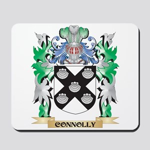 Connolly Coat of Arms - Family Crest Mousepad