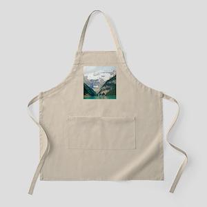 mountain landscape lake louise Apron