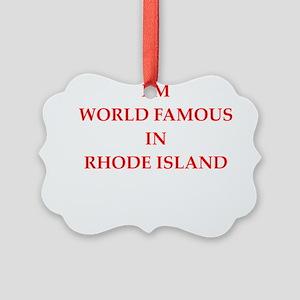rhode island Ornament