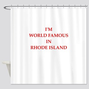 Rhode Island Shower Curtain