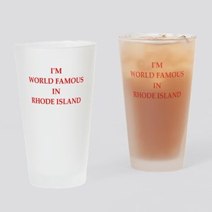 rhode island Drinking Glass