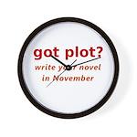 got plot? Wall Clock