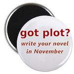 """got plot? 2.25"""" Magnet (10 pack)"""