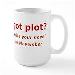 got plot? Large Mug