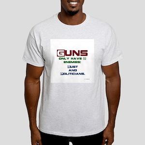 GunEnemies Light T-Shirt