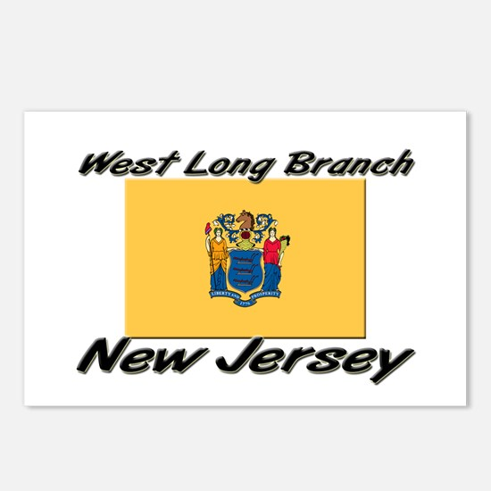 West Long Branch New Jersey Postcards (Package of