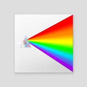 Rainbow Prism Sticker