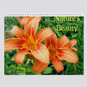 Nature's Beauty Wall Calendar