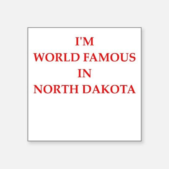 north dakota Sticker