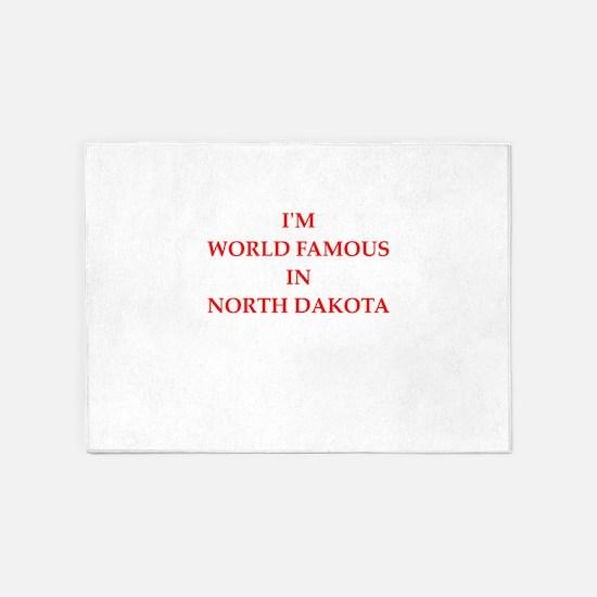north dakota 5'x7'Area Rug