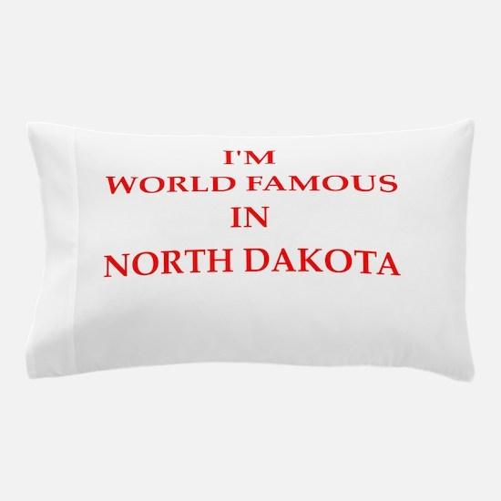 north dakota Pillow Case