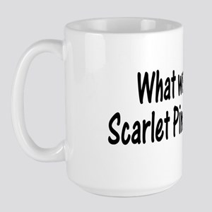 Scarlet Pimpernel Large Mug