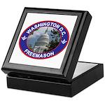 Washington D.C. Freemason Keepsake Box