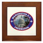 Washington D.C. Freemason Framed Tile