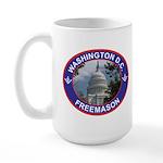 Washington D.C. Freemason Large Mug