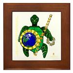 Eco-Warrior Framed Tile